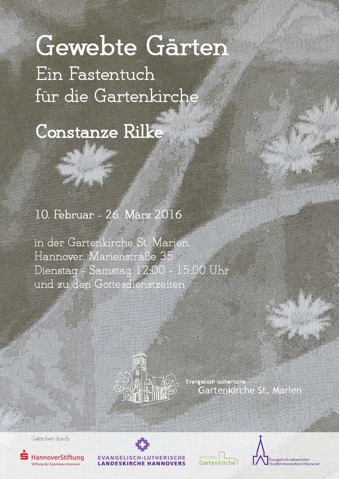 Fastentuch-Plakat